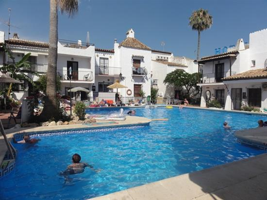 A Rustic Andalucian Charming 2 Bedroom Townhouse In The Urbanisation Of  Nueva Nerja In The Heart Of Nerja